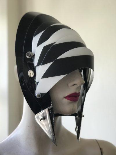 futuristic headwear