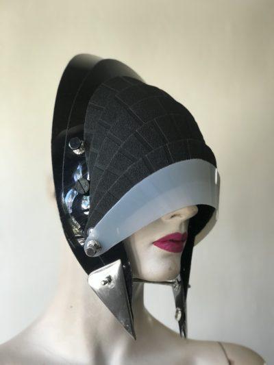 unusual design in headwear