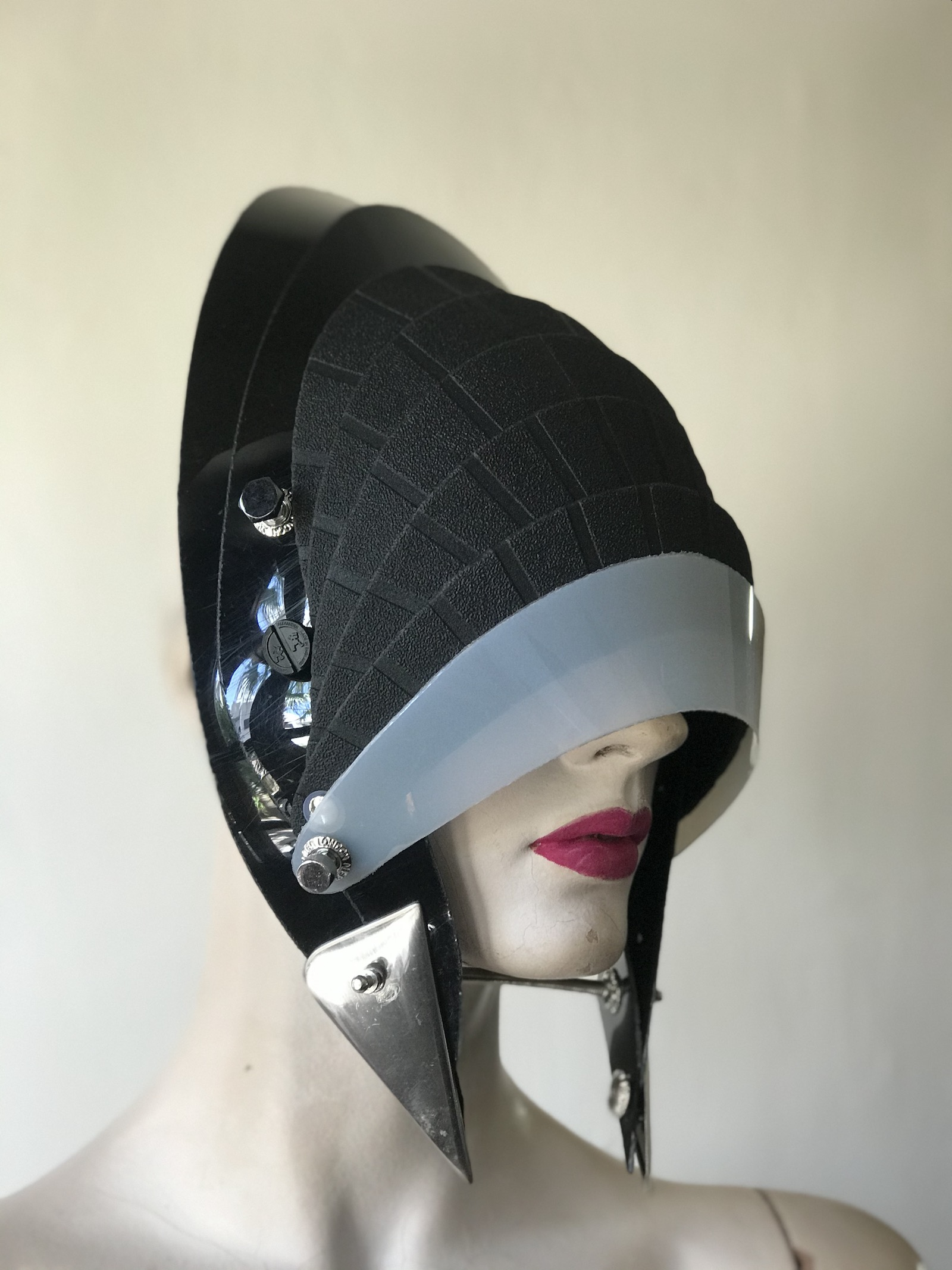 unusual design in headwear